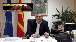 Градоначалникот Зоран Ногачески. Фото: Општина Дебрца