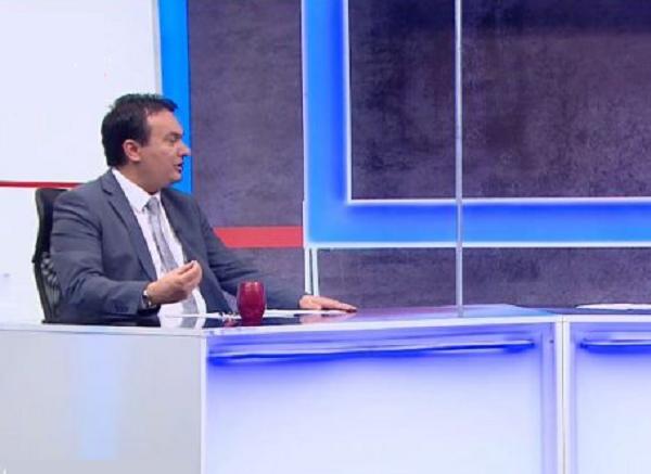 Сугарески во гостувањето на 1ТВ, 04.05.2018 Фото: Пртинтскрин