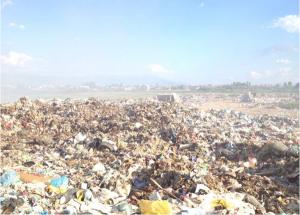 Дивата депонија во Струга Фото: akvastruga.mk