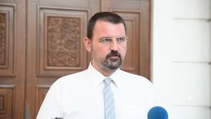Naum Stoilkovski, VMRO-DPMNE's spokesperson. Photo: VMRO-DPMNE's website