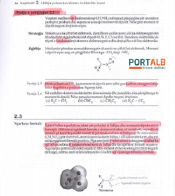 """Научни и јазични грешки само во некои делови три страници на книгата """"Органска хемија"""""""