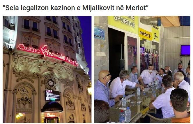 """Села не можел да го легализира казиното на Мијалков во """"Мериот"""""""